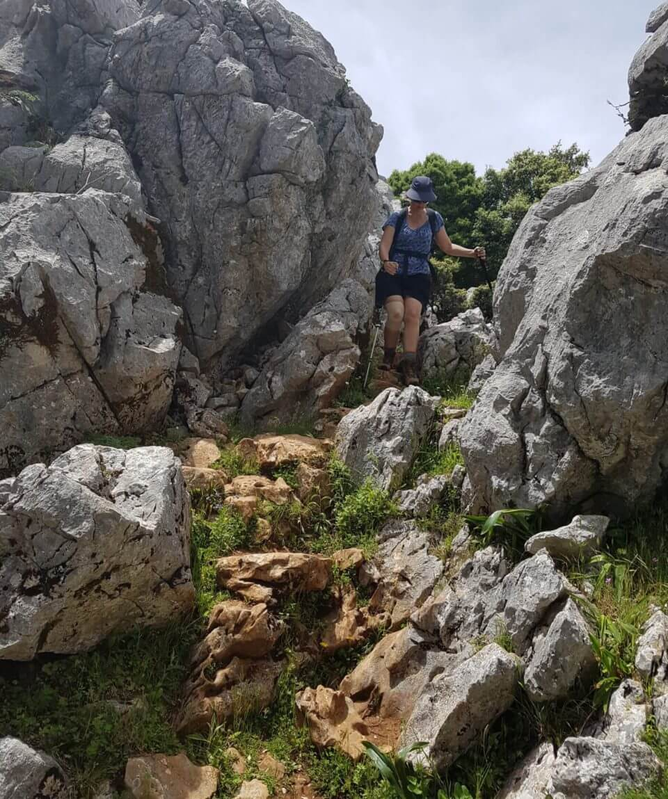 hiking Grazaelma