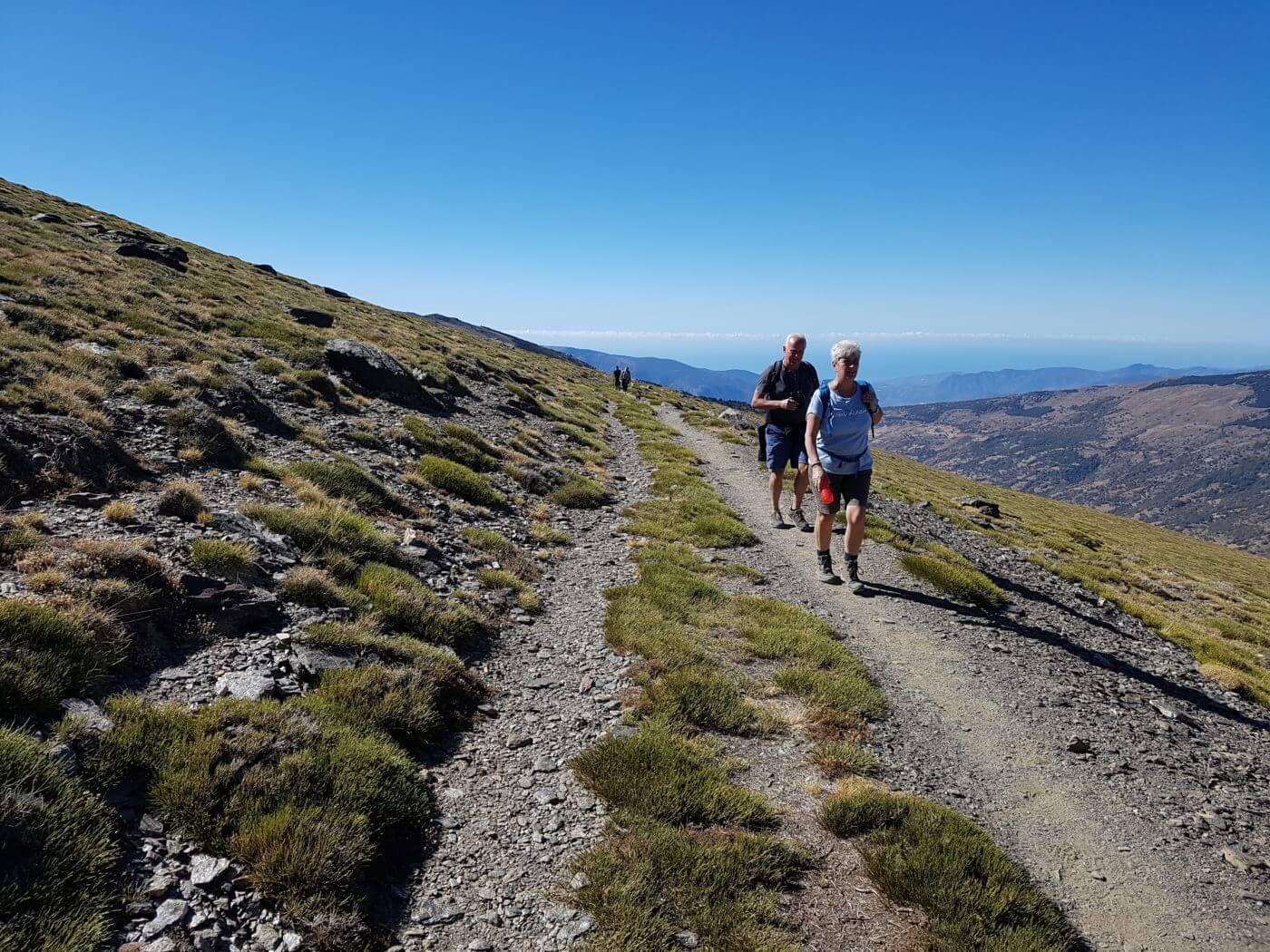 Sierra Nevada Walking